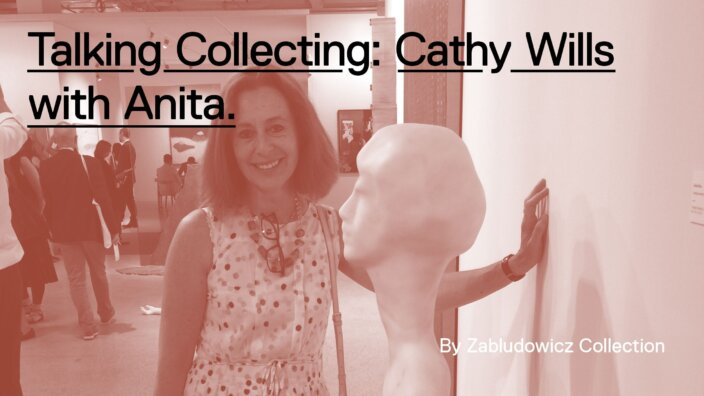 Talking Collecting: Cathy Wills with Anita