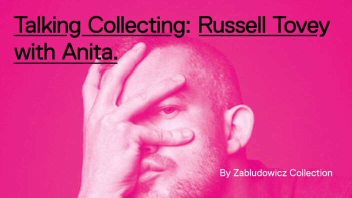 Talking Collecting: Russell Tovey with Anita