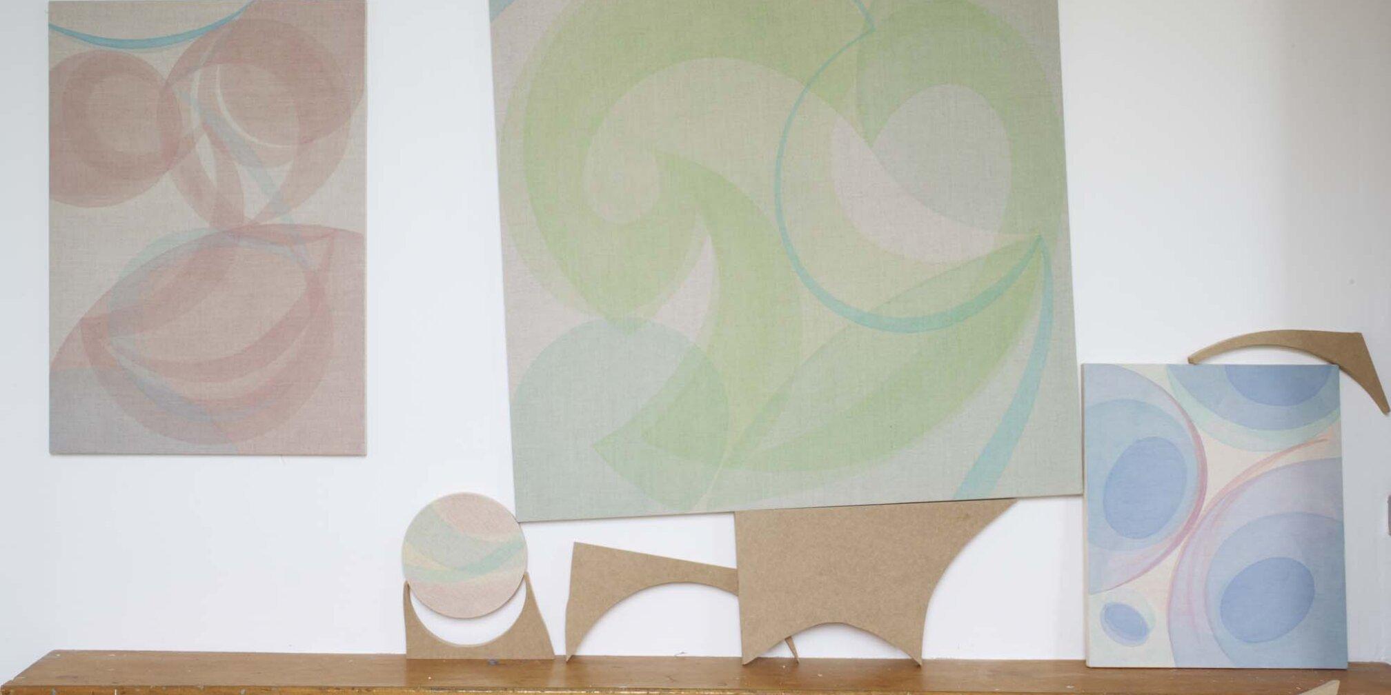Installation shot, Zabludowicz Collection Invites Yelena Papova, 2012 at Zabludowicz Collection, London. Photo: Stephen White