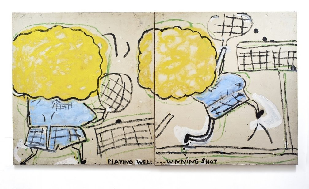 Rose Wylie Loan for Serpentine Galleries Solo Show