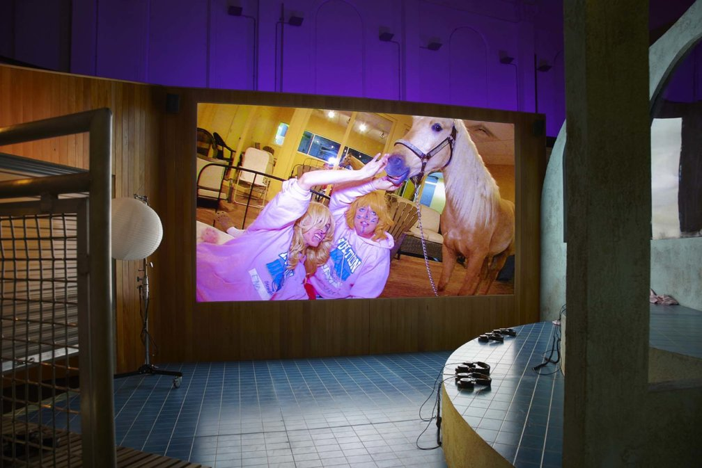 Last chance to see Lizzie Fitch/Ryan Trecartin and The ARKA Group at Zabludowicz Collection