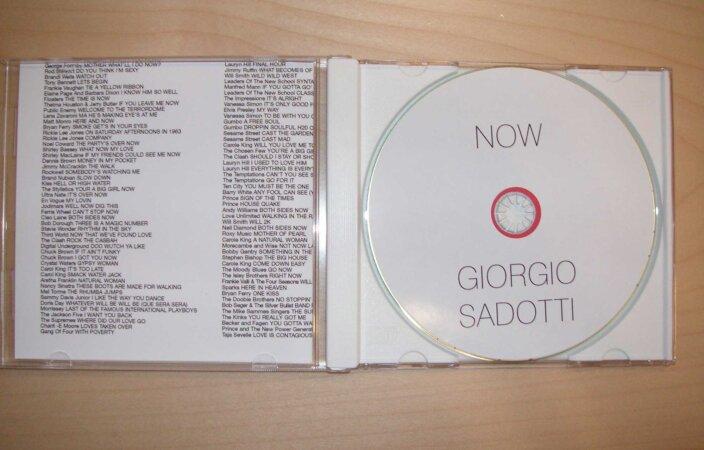 Girogio Sadotti, Now, 2007