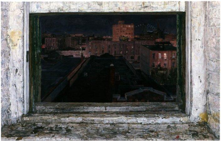 Ellen Altfest, Studio Window, 2003